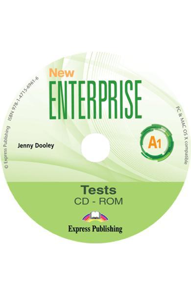 Curs limba Engleza New Enterprise A1 Teste CD-ROM