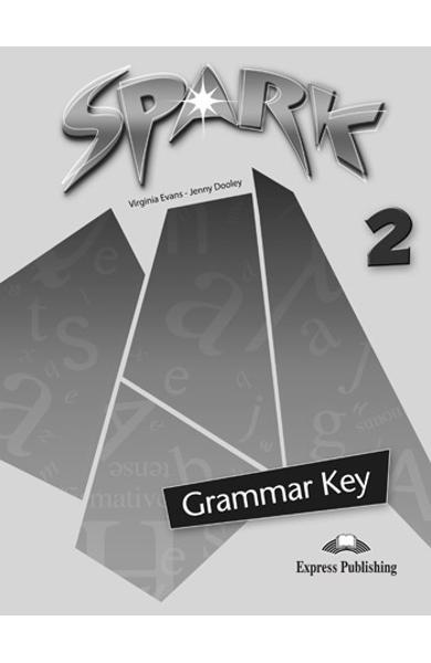 Curs limba engleză Spark 2 Monstertrackers Cheie la gramatica