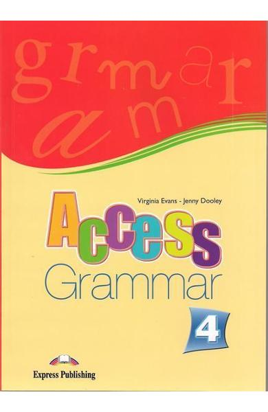 Curs limba engleză Access 4 Gramatică