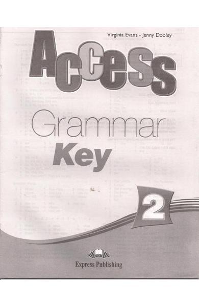Curs limba engleză Access 2 Cheie la Gramatică