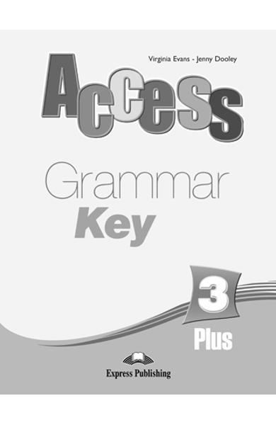 Curs limba engleză Access 3 Cheie la gramatică