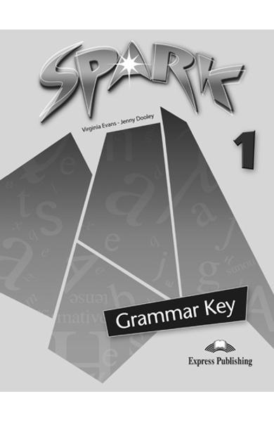 Curs limba engleza Spark 1 Monstertrackers Cheie la gramatica