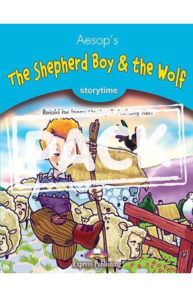 LITERATURA ADAPTATA PT. COPII THE SHEPHERD BOY AND THE WOLF SET CU AUDIO CD ( CARTE + AUDIO CD ) 978-1-84325-759-2