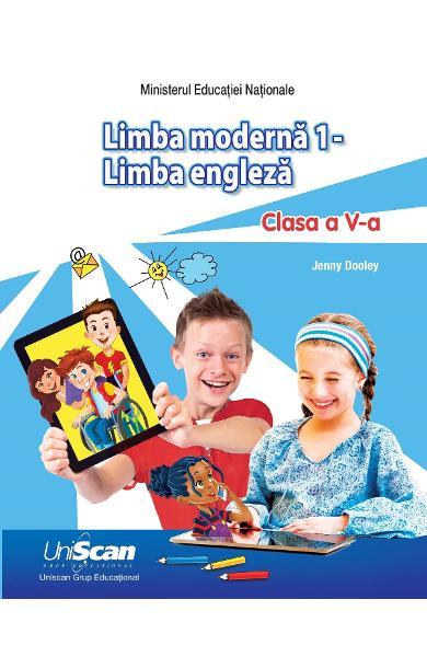 Limba Moderna 1 - Engleza - Clasa a V-a - manual elev + manual digital (CD)