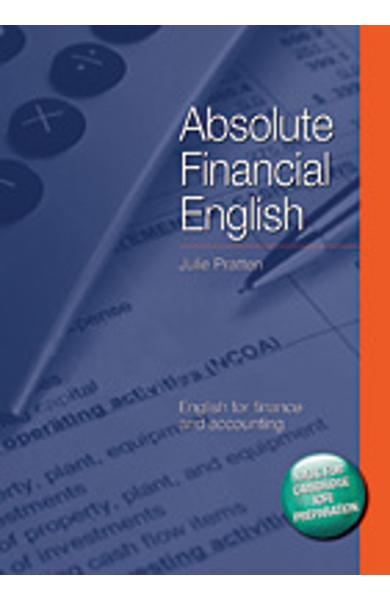 Carte de Metodica limba engleza - Absolute Financial English Book cu CD