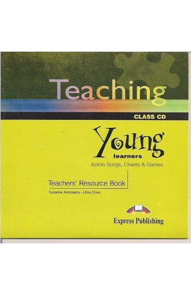 Carte de metodica in limba engleză - Teaching Young Learners CD
