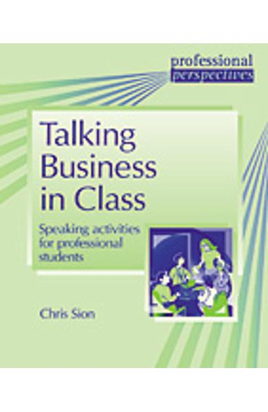 Carte de Metodica in limba engleza - Talking Business in Class