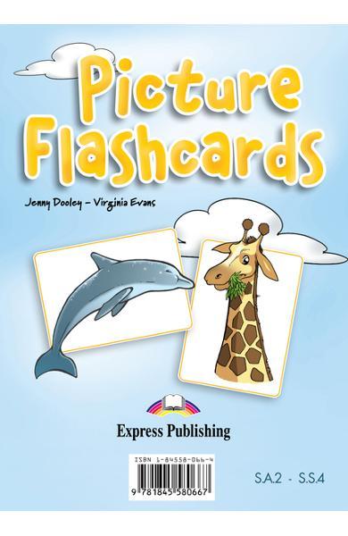 Curs limba engleză Set Sail 4 Picture flashcards