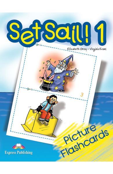 Curs limba engleză Set Sail 1 Picture Flashcards