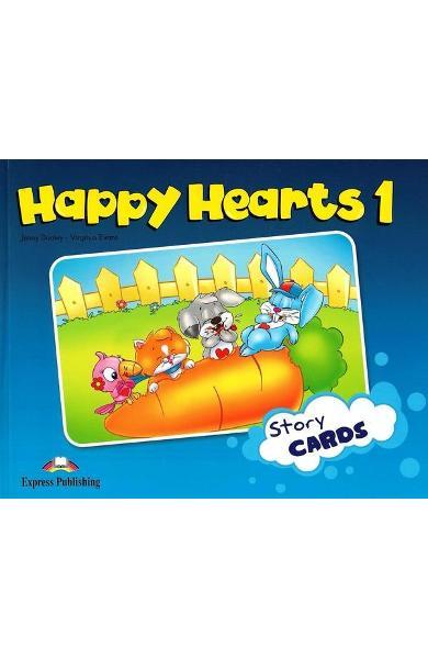 Curs limba engleză Happy Hearts 1 Story Cards