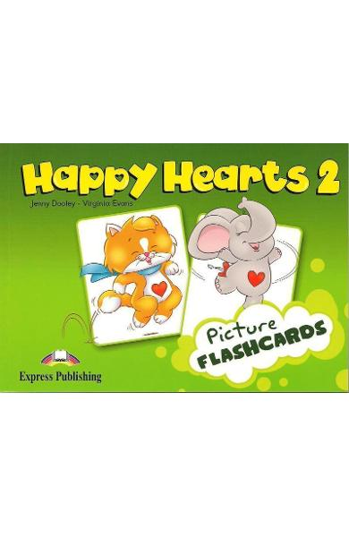 Curs limba engleză Happy Hearts 2 Picture Flashcards