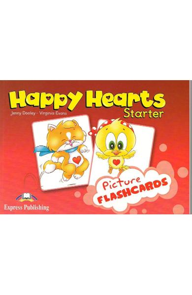 Curs limba engleză Happy Hearts Starter Picture flashcards