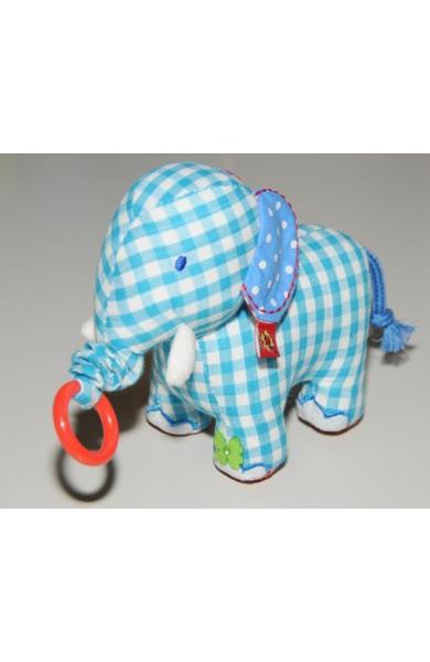 "Elefantel de panza bleu, tremurator ""Baby Charms"""
