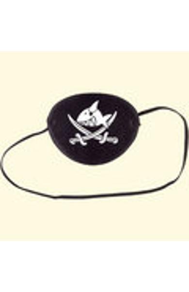 Bandaj de pirat pentru ochi - Capitanul Sharky