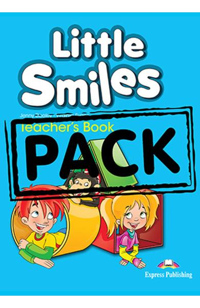 CURS LB. ENGLEZA LITTLE SMILES MANUALUL PROFESORULUI (INTERLEAVED CU LET S CELEBRATE SI POSTERE) 978-1-4715-1314-5