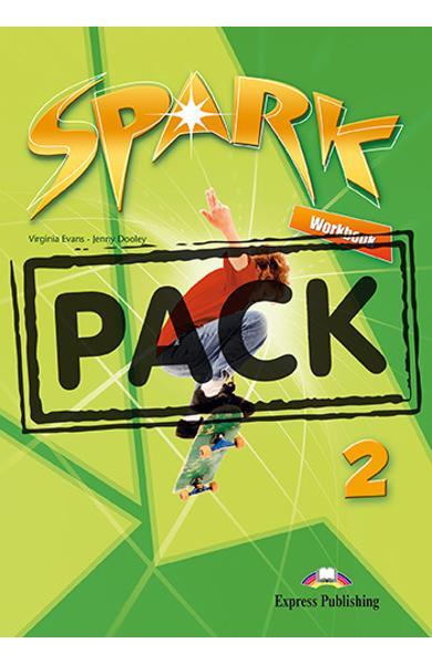 Curs limba engleza Spark 2 Monstertrackers Caietul elevului + Digibook App. 978-1-4715-6582-3