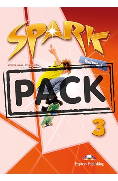 Curs limba engleza Spark 3 Monstertrackers Caietul elevului + Digibook App. 978-1-4715-6583-0
