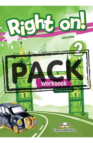 Curs limba engleza Right On 2 Caietul profesorului + Digibook App. 978-1-4715-6665-3