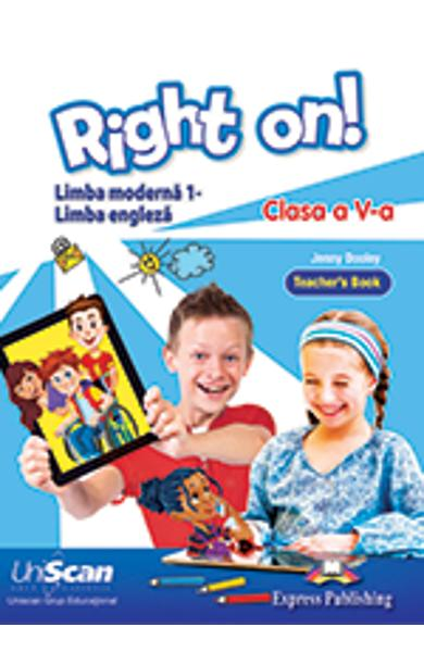 Limba Moderna 1 Engleza - Clasa a V-a Manual profesor 978-1-4715-6836-7