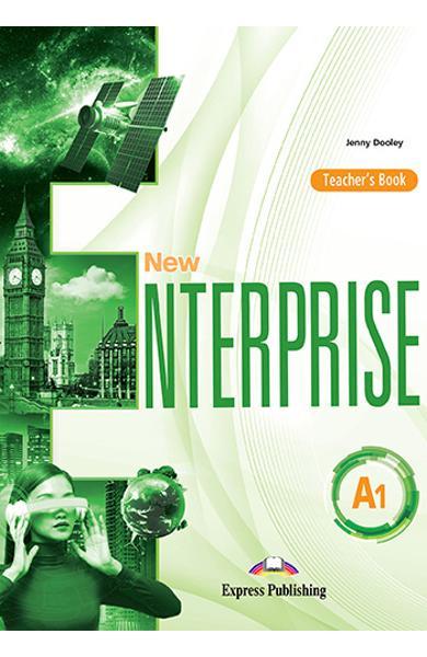 Curs limba engleza New Enterprise A1 Manualul profesorului 978-1-4715-6955-5