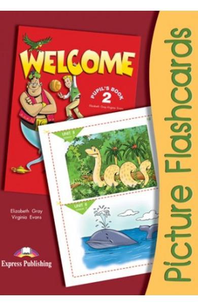 Curs limba engleza Welcome 1 Flashcards Set 2 978-1-84466-249-4