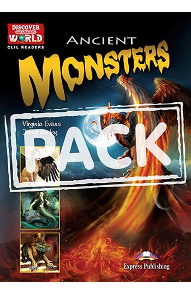 Literatura CLIL Ancient Monsters Pachetul profesorului (reader cu cross-platform APP. + TB pe CD-ROM) 978-1-4715-5356-1