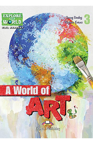 Literatura CLIL A World of Art cu Cross-Platform App. 978-1-4715-6306-5