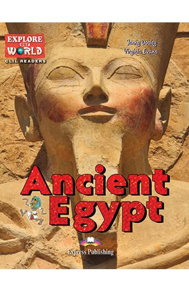 Literatura CLIL Ancient Egypt Reader cu Cross-Platform Application 978-1-4715-6307-2