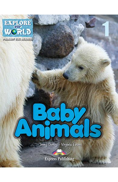 Literatura CLIL Baby Animals Reader cu Cross-platform app. 978-1-4715-6309-6