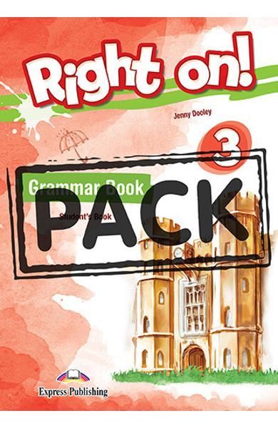 Curs limba engleza Right On 3 Gramatica + Digibooks App. 978-1-4715-6926-5