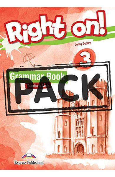 Curs limba engleza Right On 3 Manualul profesorului la gramatica cu Digigibook App. 978-1-4715-6927-2