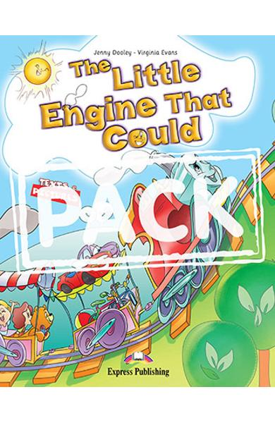 Literatura adaptata The Little Engine That Could ( reader + Audio CD + DVD ) 978-1-4715-3701-1