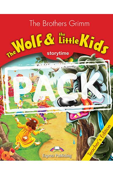 LITERATURA ADAPTATA PT. COPII THE WOLF AND THE LITTLE KIDS MANUALUL PROFESORULUI CU CROSS-PLATFORM APP. 978-1-4715-6442-0