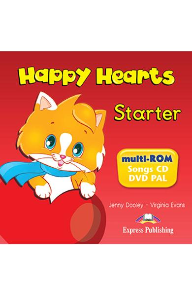 CURS LB. ENGLEZA HAPPY HEARTS STARTER MULTI-ROM 978-1-4715-0735-9