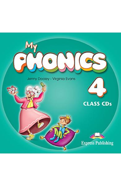 CURS LB. ENGLEZA MY PHONICS 4 AUDIO CD MANUAL (SET OF 2) 978-1-4715-2728-9