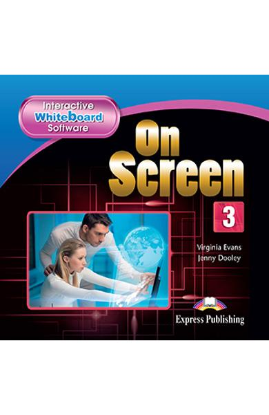 CURS LB. ENGLEZA ON SCREEN 3 SOFTWARE PENTRU TABLA INTERACTIVA 978-1-4715-3510-9