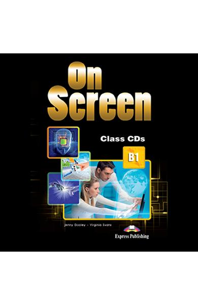 CURS LB. ENGLEZA ON SCREEN B1 AUDIO CD LA MANUAL (SET OF 3)  978-1-4715-5459-9