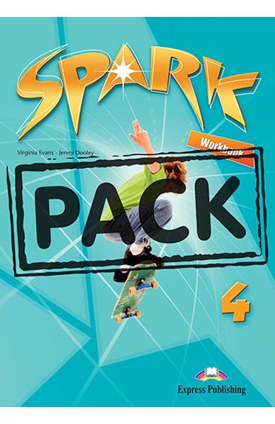 Curs limba engleza Spark 4 Monstertrackers Caietul elevului + Digibook App. 978-1-4715-6584-7