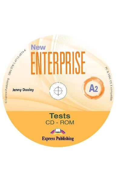 CURS LB. ENGLEZA NEW ENTERPRISE A2 TESTE CD-ROM 978-1-4715-6974-6