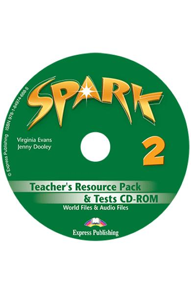 Curs limba engleza Spark 2 Monstertrackers Material aditional pentru profesor si teste CD-ROM 978-1-84974-688-5