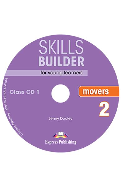 CURS LB. ENGLEZA SKILLS BUILDER MOVERS 2 AUDIO CD ( SET 2 CD-URI ) (REVIZUIT 2018) 978-1-4715-5947-1