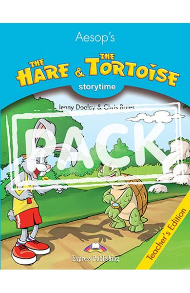 LITERATURA ADAPTATA PT. COPII THE HARE AND THE TORTOISE MANUALUL PROFESORULUI CU CROSS-PLATFORM APP. 978-1-4715-6428-4