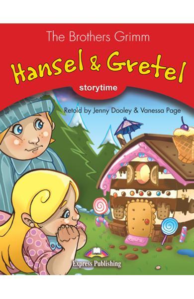 LITERATURA ADAPTATA PT. COPII HANSEL AND GRETEL DVD 978-1-84862-609-6