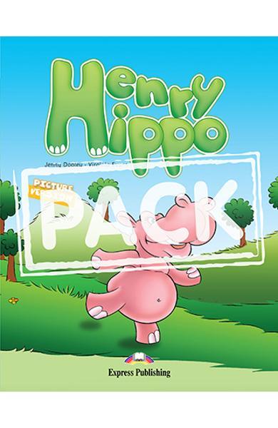 Literatura adaptata Henry Hippo reader cu MULTI-ROM ( reader + AUDIO CD + DVD ) 978-1-84974-200-9