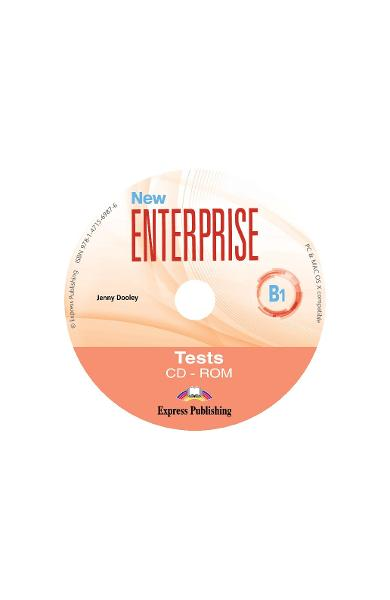 CURS LB. ENGLEZA NEW ENTERPRISE B1 TESTE CD-ROM 978-1-4715-6987-6