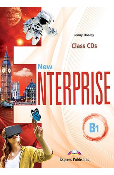 CURS LB. ENGLEZA NEW ENTERPRISE B1 AUDIO CD LA MANUAL ( SET DE 3 CD-URI ) 978-1-4715-6988-3