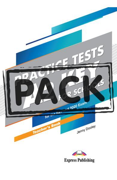 Curs limba engleza examen Cambridge A2 Key for Schools Practice Tests Manualul profesorului cu digibooks APP. (revizuit 2020) 978-1-4715-8533-3