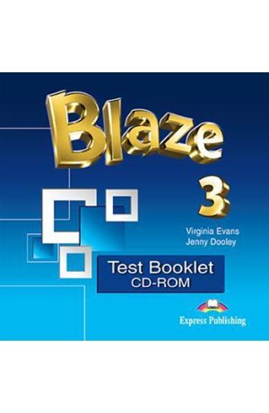 CURS LB. ENGLEZA BLAZE 3 TEST BOOKLET CD-ROM 978-1-4715-5112-3