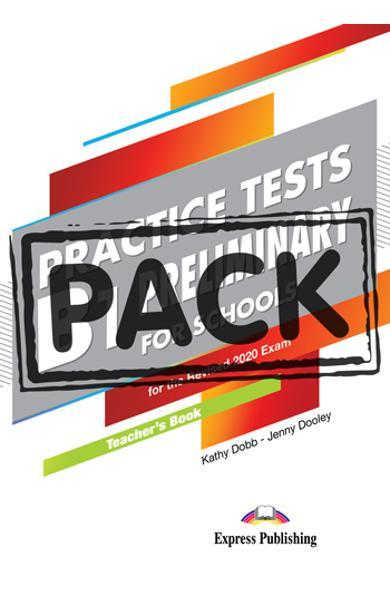 Curs limba engleza examen Cambridge B1 Preliminary for Schools Practice Tests Manualul profesorului cu digibooks APP. (revizuit 2020) 978-1-4715-8690-3