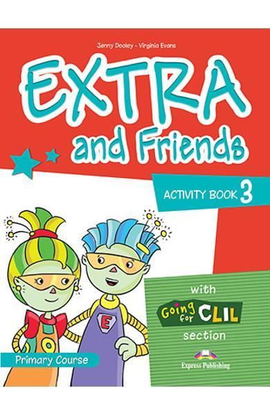 Curs lb. Engleza Extra and Friends 3 Caietul elevului 978-1-4715-0878-3